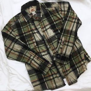 90s Flannel button down